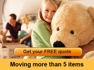 Get your Free Quote - Moving more than 5 items